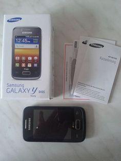 Samsung  Galaxy Y Duos GT-S6102 - Strong Black (Ohne Simlock) Smartphone