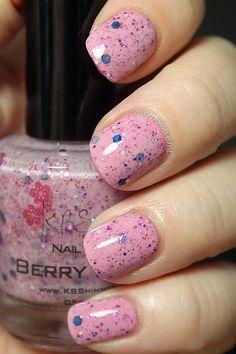 OMG! Polish 'em!: KBshimmer Berry Patch