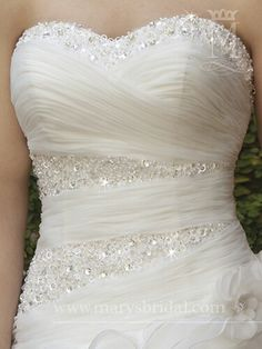 Boddice Stunning Wedding Dresses, Bridal Wedding Dresses, Dream Wedding Dresses, Bridesmaid Dresses, Wedding Dresses With Bling, Pretty Dresses, Beautiful Dresses, Princess Wedding, Dream Dress