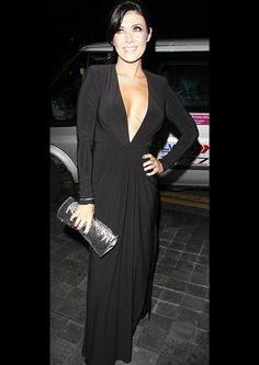 f60337684e93 Coronation Street actress Kim Marsh wearing Forever Unique dress Scarlett