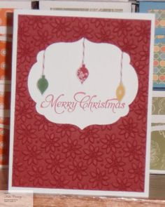 Merry Minis Merry Christmas by Call-me-Kate - Cards and Paper Crafts at Splitcoaststampers