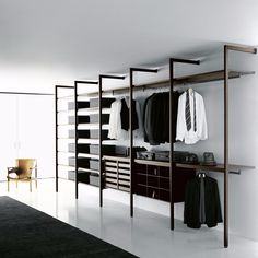 52 Popular Wardrobe Design Ideas In Your Bedroom. The most essential and important aspect of your bedroom includes your bed and bedroom wardrobe. Wardrobes give you extra storage capacity in your room. Open Wardrobe, Wardrobe Storage, Bedroom Wardrobe, Wardrobe Closet, Bedroom Closets, Closet Storage, Walk In Closet Design, Bedroom Closet Design, Closet Designs