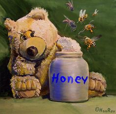 """All Honey with Jesus? Adrian Rogers  Jesus said, in John 16:33 ...""""In this world you will have trouble. But cheer up! I have overcome the world."""""""