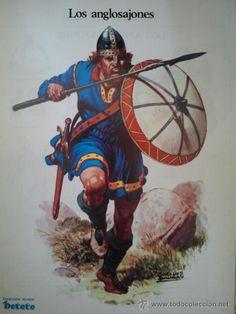 coleccion revista petete - hoja revista - los anglosajones - historia del traje…