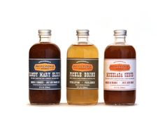 Trio of Savory Cocktail Mixers (3-pack of 8oz bottles)