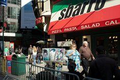 Times Square Street Corner Photo