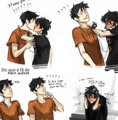 I ship them soooo much! I mean, I love Percabeth too but seriously, Nico and Percy are such a cute couple!!!