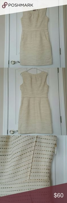 Juicy Couture Dress This dress has only been tried on, it still has the protective paper around the zipper. This is a cream colored dress. This dress has pockets!! Juicy Couture Dresses Mini