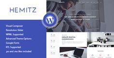 Hemitz - Moderné portfólio WordPress Téma - Portfolio Creative