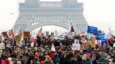 Women's March in Paris Frankreich (Reuters/J. Naegelen)