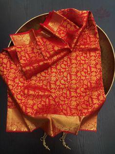 Kanjivaram Sarees, Silk Sarees, Gold Silk, Saree Wedding, Pure Silk, Color Combinations, Second Chances, Hand Weaving, Cheetah