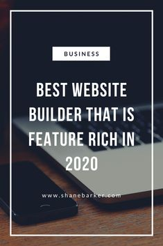 How to Choose the Best Website Builder That Is Feature Rich in 2020 - Shane Barker Opt In, Special Needs Resources, Build Your Own Website, Customer Engagement, Wordpress, Web Design Tips, Parent Resources, News Sites, Public Relations