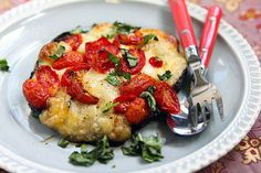 Grilled Caprese Portabella by cheekykitchen
