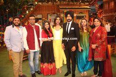 Promotion of #Punjabifilm '#Sarvann' on the sets of '#TheKapilSharmaShow' #SiddharthChopra #KaraanGuliani #SimiChahal #PriyankaChopra #RanjitBawa #DeepshikhaDeshmukh #MadhuChopra
