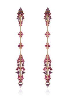Fusion Arrow Long Earrings by Fernando Jorge for Preorder on Moda Operandi