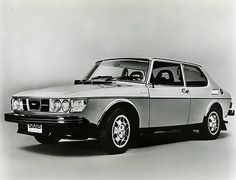 Saab (very similar to my first car) We called it the hot potato...it was brown :o)