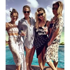 Becca Tobin celebrating her birthday with her friends in Tulum, Mexico
