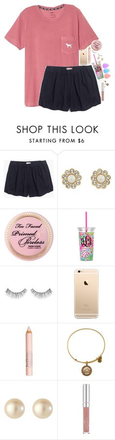 """""""One week till school starts"""" by erinlmarkel ❤ liked on Polyvore featuring Madewell, Kate Spade, Too Faced Cosmetics, NARS Cosmetics, Isadora, Alex and Ani, VIcenza and Zodaca"""