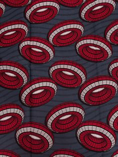 African wax block print fabric via eBay: Africanpremier Ethnic Patterns, Graphic Patterns, Textile Patterns, Textile Prints, Print Patterns, African Patterns, African Textiles, African Fabric, African Art