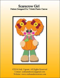 SCARECROW GIRL by JODY VIGEANT -- WALL HANGING 1/2
