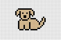 Puppy - Goldendoodle Puppy from BrikBook.com #Animal #Originals #Puppy #Dog #Goldendoodle #pixel #pixelart #8bit Shop more designs at http://www.brikbook.com