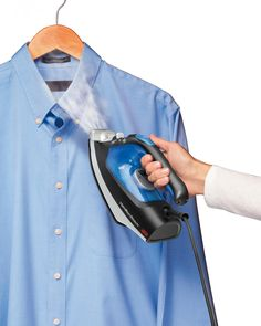 how to use a shark clothes steamer