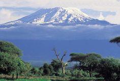 Someday, I want to trek up Kilimanjaro.