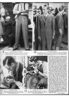 Put This On • Savile Row, 1939 This article from England's...