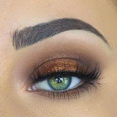 bronze halo smokey eye | makeup @makenziewilder