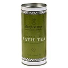 I'm learning all about Deep Steep Bath Tea Can Rosemry MNT Size Tin at @Influenster!