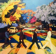 Here are some trippy psychedelic style Beatles art and graphics. There are images from the Yellow Submarine Movie, Sgt. Pepper, Abbey road, etc. If you have other trippy Beatles images Abbey Road, Psychedelic Art, Les Beatles, Beatles Art, Beatles Poster, Beatles Guitar, Beatles Love, Art Pop, Photo Wall Collage