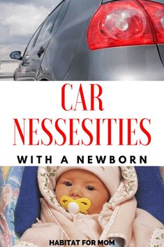 12 Things to Keep Handy in Your Car With a Newborn Baby - Habitat For Mom Modern Baby Clothes, Organic Baby Clothes, Cute Baby Clothes, Baby Girl Dress Design, Cool Boy Names, Newborn Necessities, Baby Park, Storing Baby Clothes, Preparing For Baby