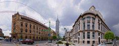 Correos and Fine Arts Palaces, Mexico City