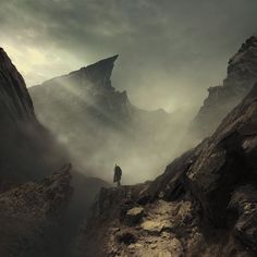 Discover more breath-taking landscapes in Michal Karcz's portfolio at the AP Gallery. http://www.advancedphotoshop.co.uk/image/55024/deep_calls_to_deep