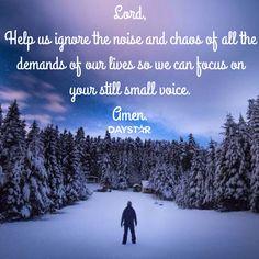 Still small voice Christian Encouragement, Encouragement Quotes, Scripture Quotes, Bible Scriptures, Clever Quotes, Jesus Freak, Spiritual Warfare, Godly Woman, Spiritual Quotes