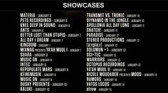Showcase 1ra FASE  #BPM2017 NEWS: PHASE 1 ANNOUNCED, 30+ SHOWCASES ANNOUNCED AND EXCLUSIVE PREVIEW /Por #HYPE #HYPEméxico
