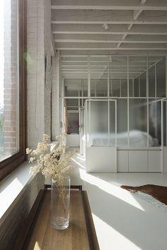 Door Design, Exterior Design, Interior And Exterior, Style At Home, Glass Partition Wall, Music Studio Room, Style Loft, Apartment Interior, Beautiful Interiors