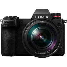 Panasonic LUMIX Mirrorless Camera - Black (Kit with L-Mount Lens) for sale online Sony Camera, Camera Case, Camera Tripod, Leica, Canon Eos, Wi Fi, Appareil Photo Reflex, Full Frame Camera, Filter