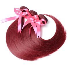 Nice Ali Pearl Hair 99j Bundles With Closure Human Hair Burgundy Brazilian Straight Hair 3 Bundles With Closure Remy Hair Extension Be Friendly In Use Human Hair Weaves Hair Extensions & Wigs