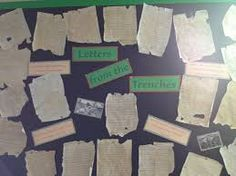 Letters from the trenches School Displays, Classroom Displays, Classroom Projects, Classroom Ideas, Curriculum, Homeschool, History Department, Remembrance Day, Board Ideas