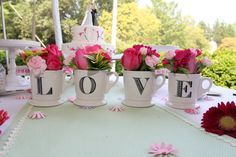 whimsical wedding decoration ideas Whimsical Wedding with Pink Polka Dot Shoes