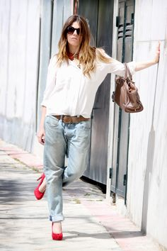 Boyfriend Jeans: Levi's