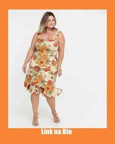 """1 curtidas, 0 comentários - Vestidos Básicos💃 (@vestidosbasicos) no Instagram: """"Para comprar, só clicar no link da bio. Bjs.  Siga @vestidosbasicos   #vestidoestampado…"""" Vestidos Plus Size, Look, 1, Summer Dresses, Instagram, Fashion, Moda, Summer Sundresses, Fashion Styles"""