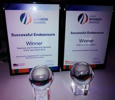 Casey Business Awards Winners 2013 Trophies and plaques for - Business and Professional Services - Innovation