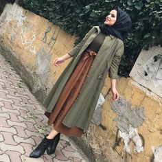 Style Hijab Casual Gendut 66 Ideas For 2019 Summer Dress Outfits, Summer Fashion Outfits, Casual Summer Dresses, Modest Dresses, Summer Outfits Women, Dress Summer, Dress Casual, Hijab Casual, Hijab Style
