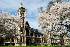 Dunedin - New Zealand -  University of Otago - September 1989 and January 2013