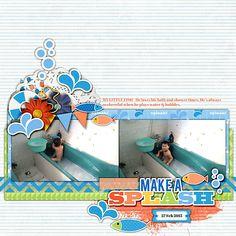Make a splash by Jad