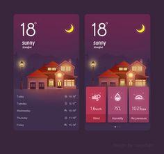 25 UI Designs Which Follow The Latest Design Trends | Ui design ...