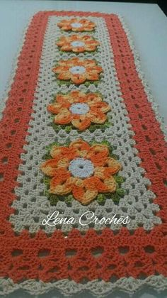 White crochet top with voluminous multi-colored flowers. Ready to ship. Crochet Round, Love Crochet, Crochet Motif, Crochet Designs, Crochet Top, Knitting Patterns, Crochet Patterns, Crochet Dollies, Crochet Flower Tutorial