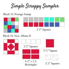 Clover & Violet — Simple Scrappy Sampler {Week 8}